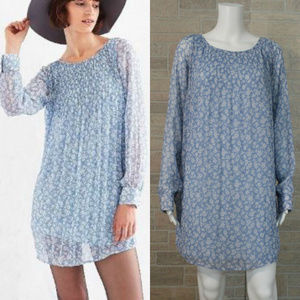 Kimchi Blue Floral Swing Loose Fit Tunic Dress